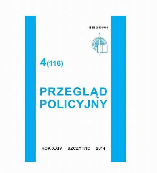 Przegląd Policyjny, nr 4(116) 2014