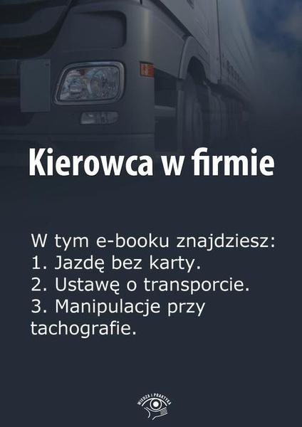 Kierowca w firmie, wydanie specjalne marzec 2014 r.
