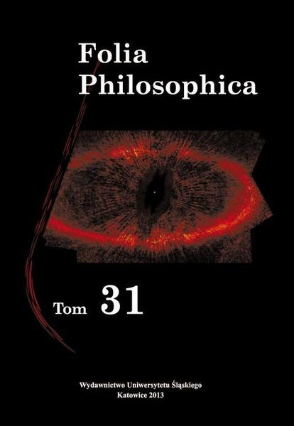 Folia Philosophica. T. 31
