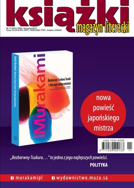 Magazyn Literacki KSIĄŻKI nr 11/2013 (206)