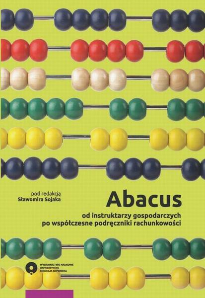 Abacus - od instruktarzy gospodarczych po współczesne podręczniki rachunkowości