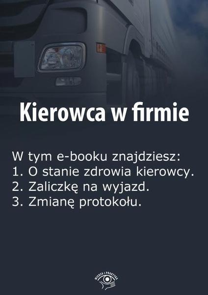 Kierowca w firmie, wydanie czerwiec 2014 r.