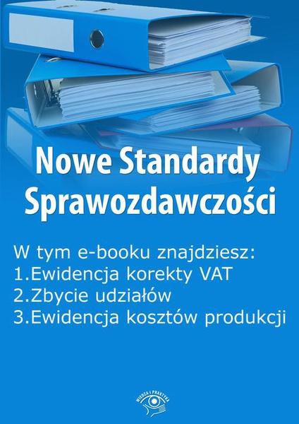 Nowe Standardy Sprawozdawczości, wydanie czerwiec 2015 r.
