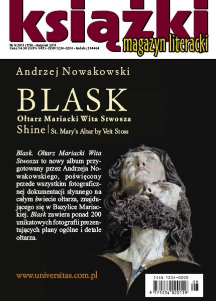 Magazyn Literacki KSIĄŻKI - nr 8/2011 (179)