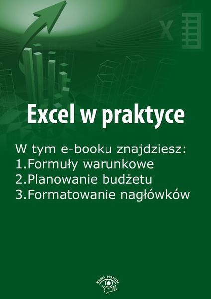 Excel w praktyce, wydanie grudzień 2015 r.