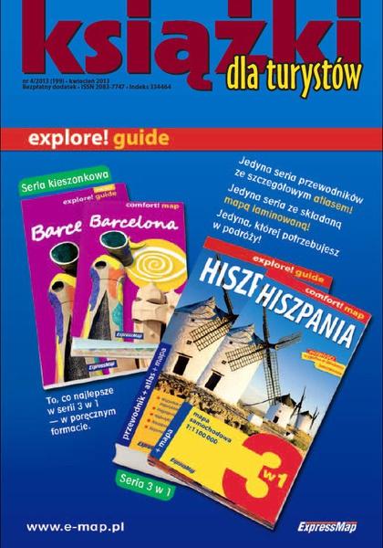 Magazyn Literacki Książki - Nr 4/2013 (199) - Książki dla turystów