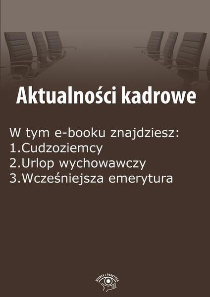 Aktualności kadrowe, wydanie czerwiec 2015 r. Część I