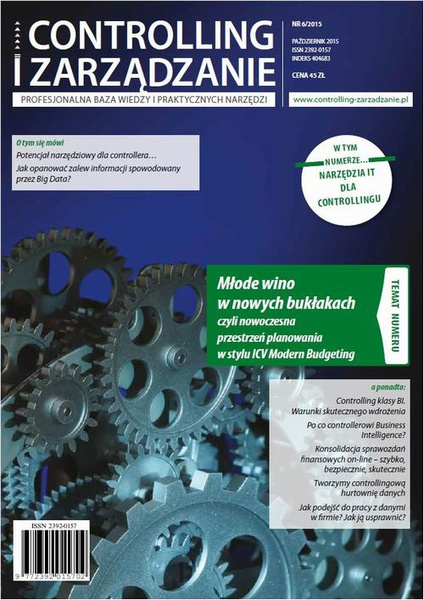 Controlling i Zarządzanie (nr 6/2015)