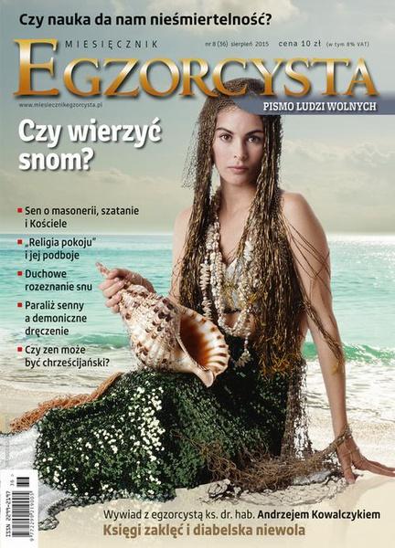 Miesięcznik Egzorcysta. Sierpień 2015