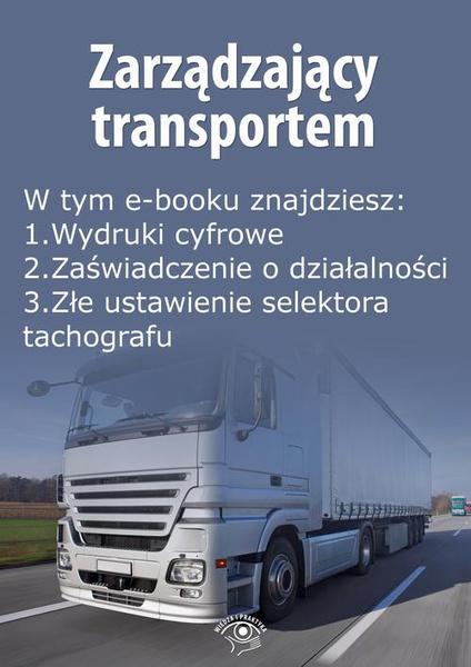 Zarządzający transportem, wydanie maj 2015 r.