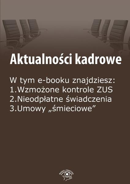 Aktualności kadrowe, wydanie wrzesień 2014 r.