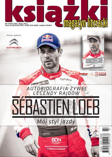 Magazyn Literacki Książki - Nr 7/2013 (202) -