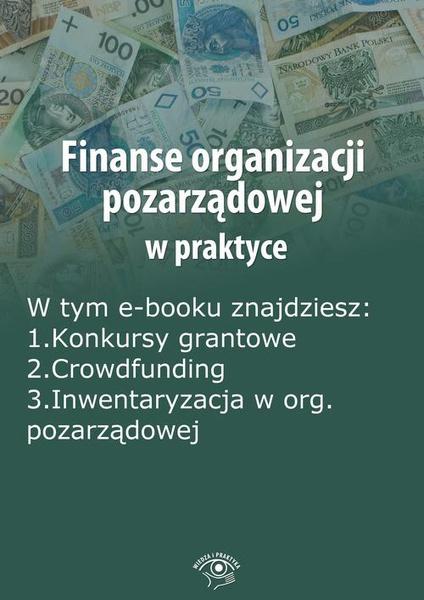 Finanse organizacji pozarządowej w praktyce, wydanie październik 2014 r.