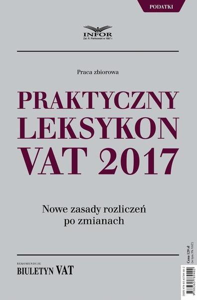 Praktyczny leksykon VAT 2017