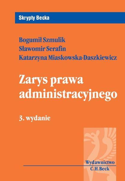 Zarys prawa administracyjnego