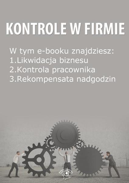 Kontrole w Firmie, wydanie listopad 2014 r.