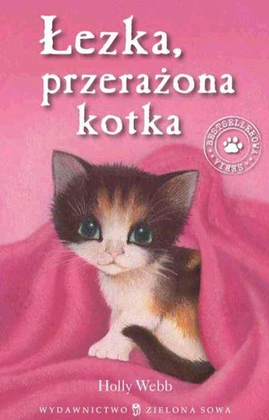 Łezka, przerażona kotka