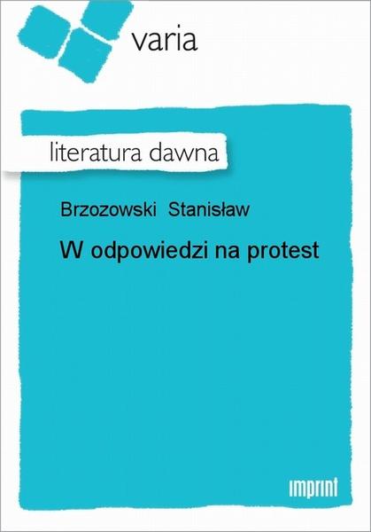 W Odpowiedzi Na Protest