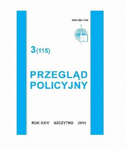 Przegląd Policyjny, nr 3(115) 2014