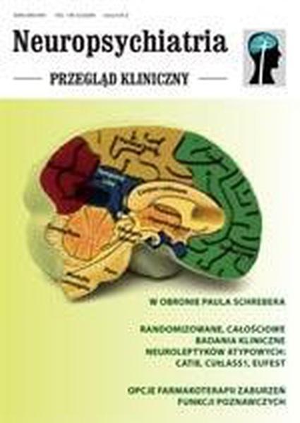 Neuropsychiatria. Przegląd Kliniczny NR 3(3)/2009
