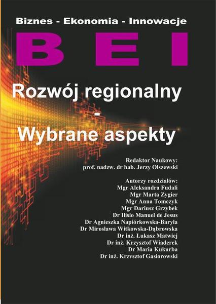 Rozwój regionalny- Wybrane aspekty Cz.I.