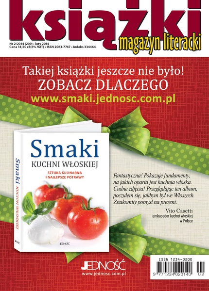 Magazyn Literacki Książki, nr 2/2014 (209)