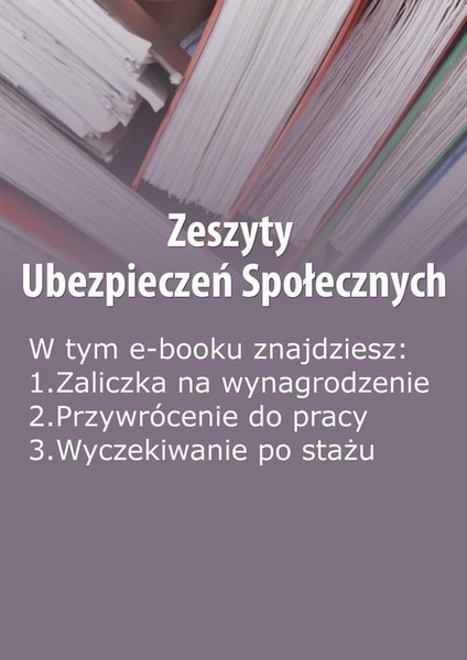 Zeszyty Ubezpieczeń Społecznych, wydanie maj 2014 r.