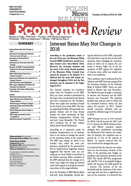 PNB Economic Review