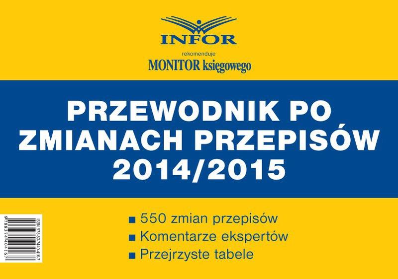 Podatki i Rachunkowość - Przewodnik po zmianach przepisów 2014/2015