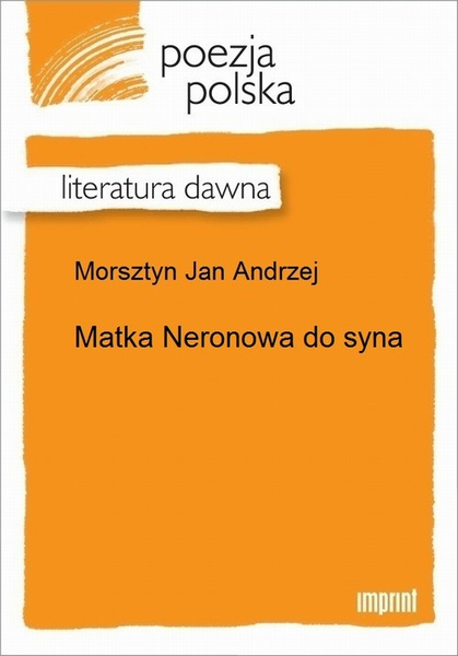 Matka Neronowa do syna