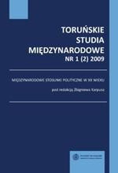 Toruńskie Studia Międzynarodowe, nr 1 (2) 2009