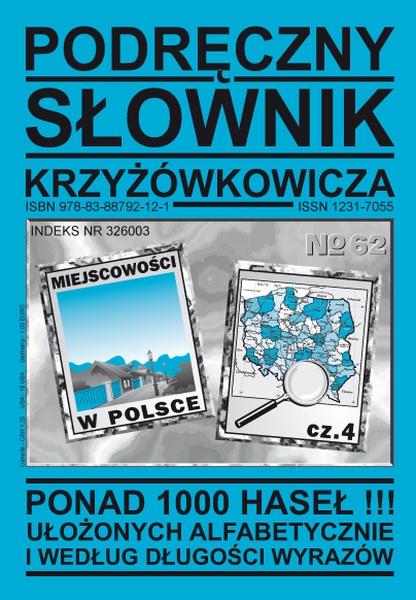 Podręczny Słownik Krzyżówkowicza - Nr 62