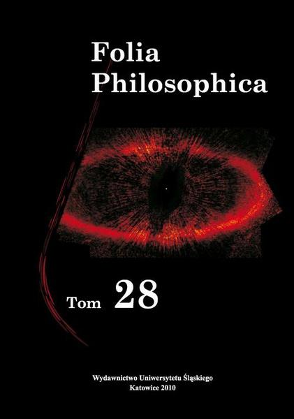 Folia Philosophica. T. 28