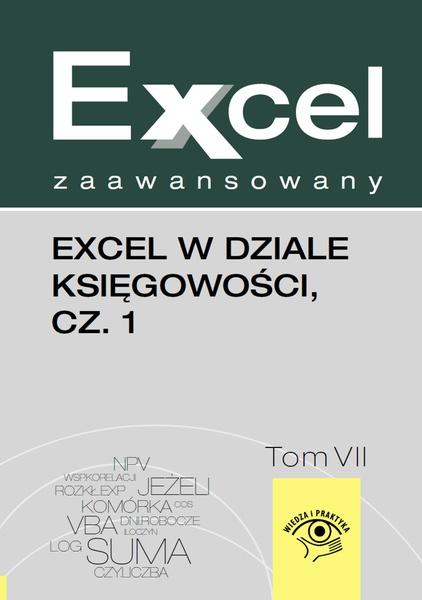 Excel w dziale księgowości, cz. 1