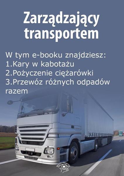 Zarządzający transportem, wydanie październik 2015 r.