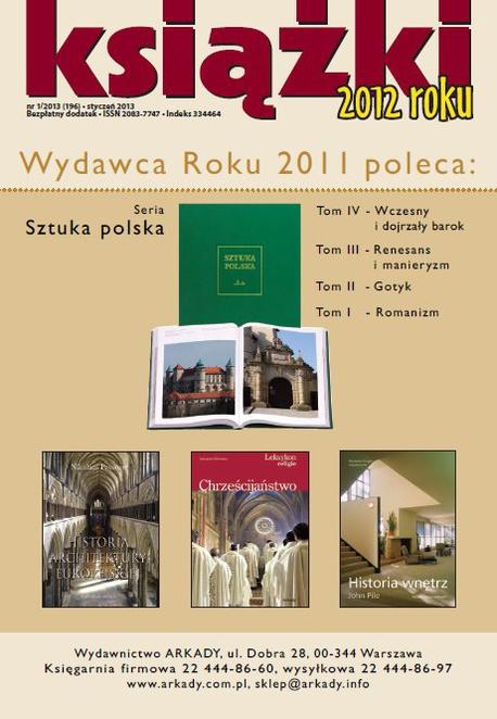 Magazyn Literacki Książki - Nr 1/2013 (196) - Książki 2012 - Opracowanie zbiorowe
