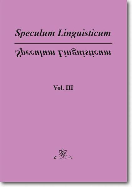 Speculum Linguisticum Vol. 3
