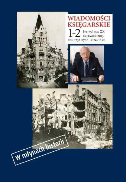 Wiadomości Księgarskie nr 1-2/2013 (74-75)
