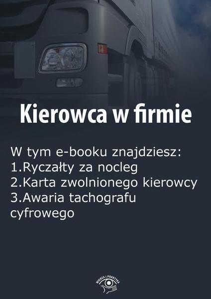 Kierowca w firmie, wydanie styczeń 2016 r.