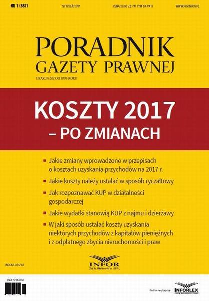 PGP 1/2017 Koszty 2017 – po zmianach