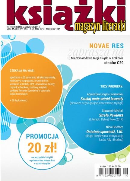 Magazyn Literacki KSIĄŻKI 10/2014