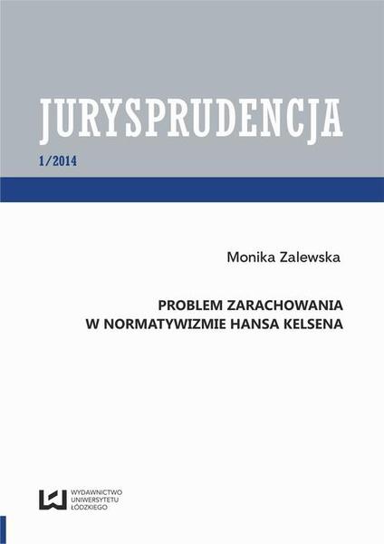 Problem zarachowania w normatywizmie Hansa Kelsena