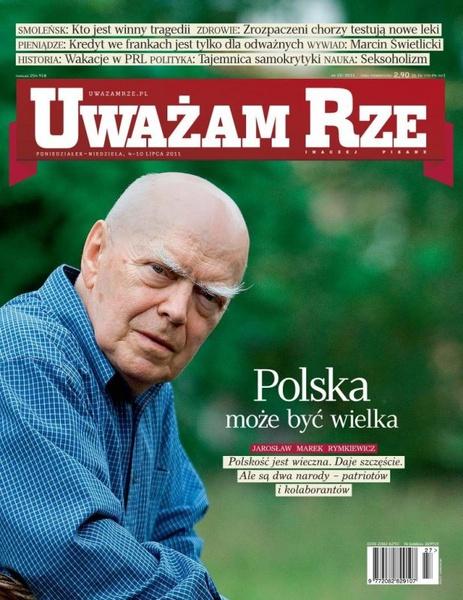 """""""Uważam Rze. Inaczej pisane"""" nr 22/2013"""