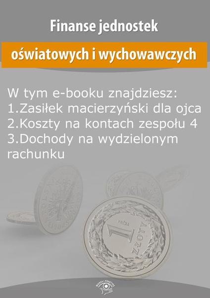 Finanse jednostek oświatowych i wychowawczych, wydanie październik 2015 r.