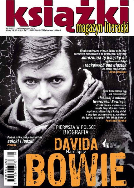Magazyn Literacki KSIĄŻKI - nr 1/2013 (196)