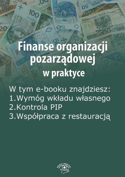 Finanse organizacji pozarządowej w praktyce, wydanie wrzesień 2014 r.