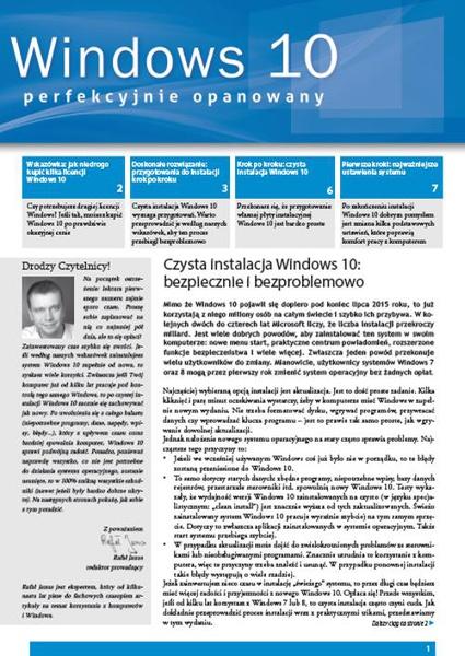 Windows 10 perfekcyjnie opanowany