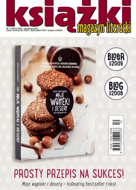 Magazyn Literacki KSIĄŻKI - nr 12/2013 (207) - Opracowanie zbiorowe