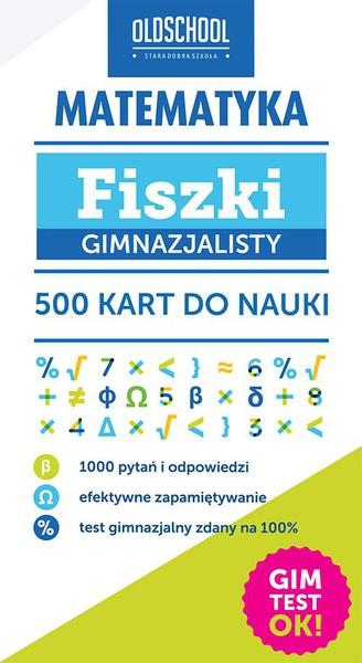 Matematyka Fiszki gimnazjalisty