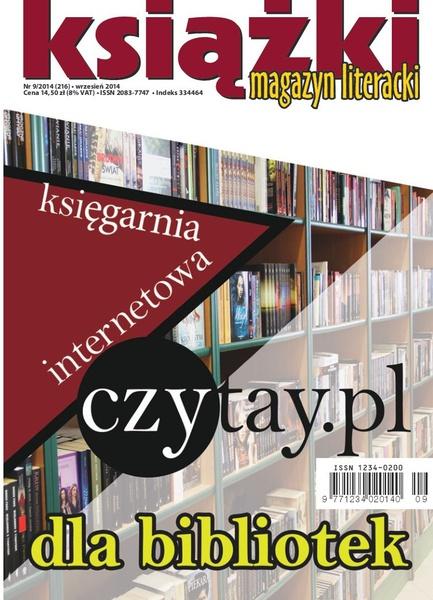 Magazyn Literacki KSIĄŻKI 9/2014